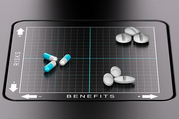 Benefits and risks of medicine